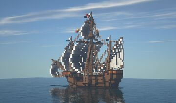 """Medieval Ship 