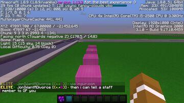 hi i am serverw i will not ban u Minecraft Map & Project