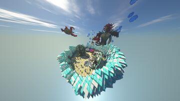 Underwater mini waiting-Lobby/Minigames spawn FREE SCHEMATIC DOWNLOAD Minecraft Map & Project