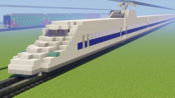 N700系 Series Shinkansen | JR WEST | JR CENTRAL | Bullet Train Minecraft Map & Project