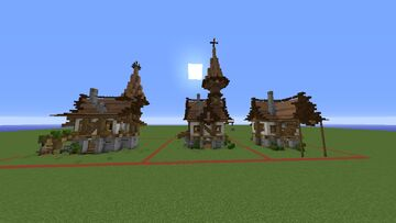 Medieval House | Pack - 12 Minecraft Map & Project