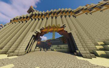 Große Stadtmauer Minecraft Map & Project