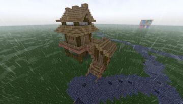 Village House - Swamp Hut Minecraft Map & Project