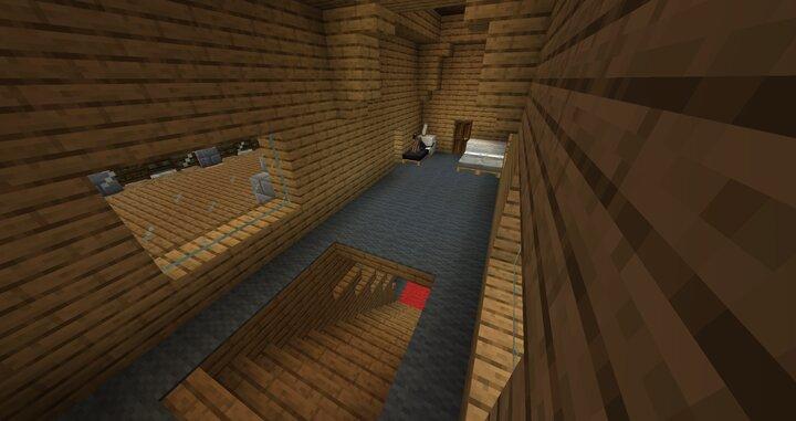 4th Floor Hallway & Bedroom Right