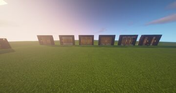 Spruce Wall ideas! Minecraft Map & Project