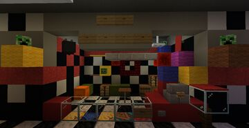 Five Nights At Freddy's VR Help Wanted Beta Minecraft Map & Project