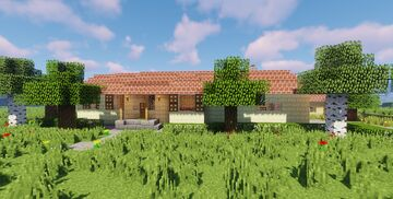 Suburban House 2 Minecraft Map & Project