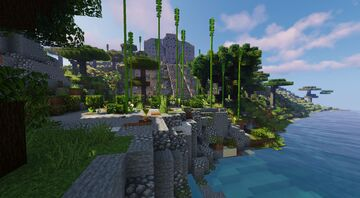 Emperor of the Seas Ancient Temple Minecraft Map & Project