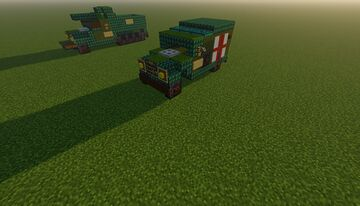 Dodge WC54 Minecraft Map & Project
