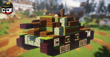 Sav. m/43 (2:1 scale) Minecraft Map & Project