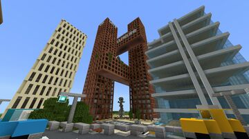 The Gate Tower Minecraft Map & Project