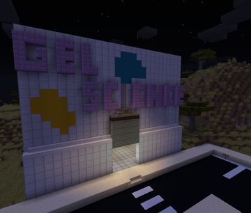 The gel laboratory Minecraft Map & Project