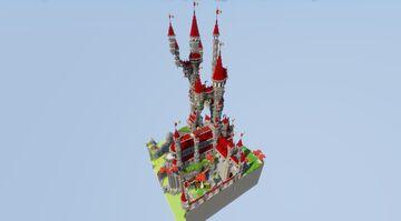 Plot World - Fantansy Castle Minecraft Map & Project