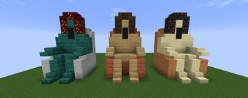 Statue on the throne Minecraft Map & Project
