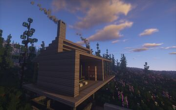 Meadow Cabin Minecraft Map & Project