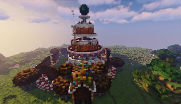 Caketon, The castle of Cake (Happy b-day Pmc!) :D Minecraft Map & Project