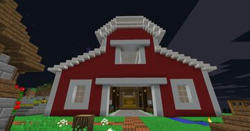 A Simple Barn. Minecraft Map & Project