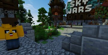 Lobby SkyWars (Spawn SkyWars) With NPC FOR FREE! Minecraft Map & Project