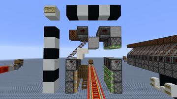 Minecart Splitter V2 Minecraft Map & Project