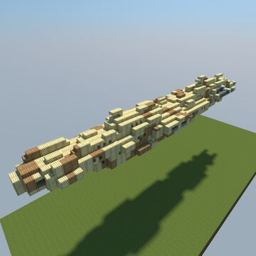MC80 Home One Cruiser Minecraft Map & Project