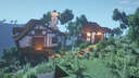 Medieval Tudor Mountain House Minecraft Map & Project