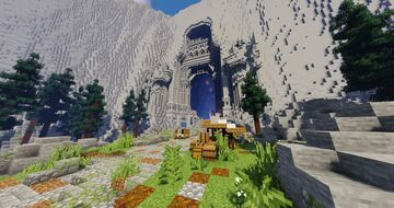 Erebor, a city of Durin's folk. Minecraft Map & Project