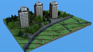 BTE Project - Budapest, Istenhegyi street 50-52 Minecraft Map & Project