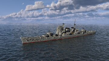 IJN Myoko Heavy Cruiser 1:1 Scale Minecraft Map & Project