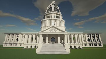 Just a white house Minecraft Map & Project