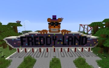 Thefamousfilms Fnaf Freddy Land Minecraft Map & Project