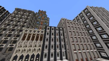 City of Infinite Minecraft Map & Project