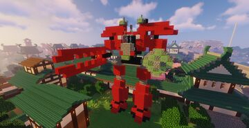 Exo-Force Grand Titan Minecraft Map & Project