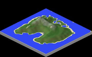 The Great Plateau Island Minecraft Map & Project