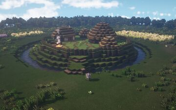 Irish Ringfort [550 - 1000 A.D] Minecraft Map & Project