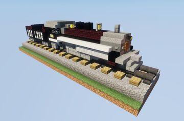 Soo Line No. 2719 Steam Locomotive Minecraft Map & Project