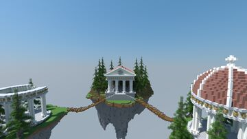 SkyBlock Server Spawn   Aderlyon Build Team [DOWNLOAD] Minecraft Map & Project