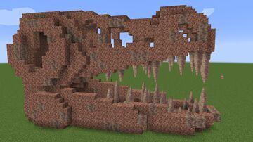 1.17 T-Rex Skull Fossil Minecraft Map & Project