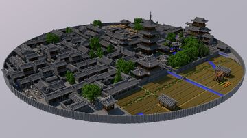 The Legend of LuoXiaohei【Lanxi town】 Minecraft Map & Project