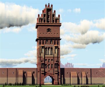 Steintor, Anklam, Germany Minecraft Map & Project