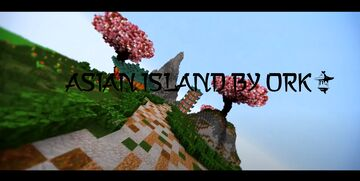MINECRAFT TIMELAPSE GIANT ASIAN ISLAND Minecraft Map & Project