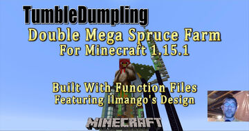 Double Mega Spruce for Minecraft 1.15.1 (Uses Function Files) Minecraft Map & Project