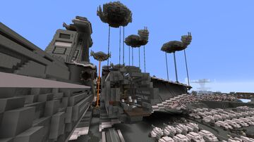 Bracca, age: Civil War (Star Wars planet) Minecraft Map & Project