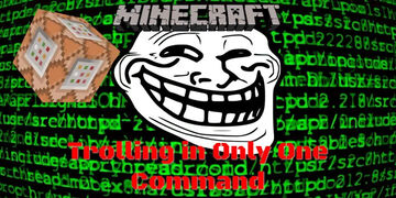 Only One Commands for 1.16 | Trolling & TimberMod Minecraft Map & Project