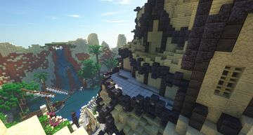 Oasis Survival Spawn Minecraft Map & Project
