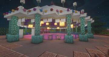 Teacups Ride (Hong Kong Disneyland) Minecraft Map & Project
