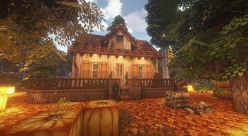 A Slow Cinnamon s̶u̶m̶m̶e̶r̶   Autumn Minecraft Map & Project