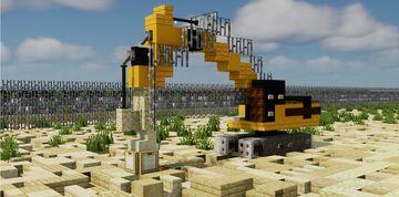 Minecraft Update Caterpiller Excavator Minecraft Map & Project