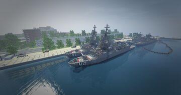 sydney naval base HMAS KUTTABUL Minecraft Map & Project