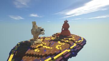 Magic carpet with genie lamp and gourd Minecraft Map & Project