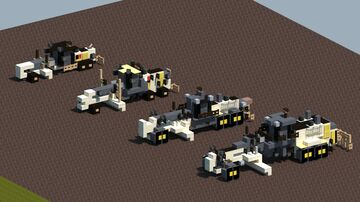 Cat motor graders [With download] Minecraft Map & Project